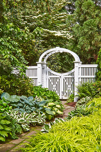 873 - NJ - Custom Arbor & Gate