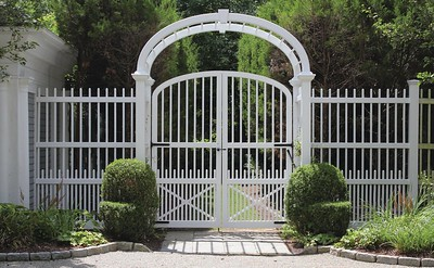 367717 - Westport CT - Custom Gate & Arbor