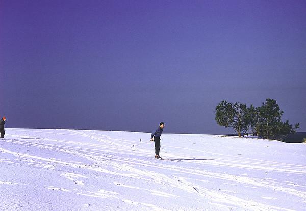 Ski sur la dune du Pyla