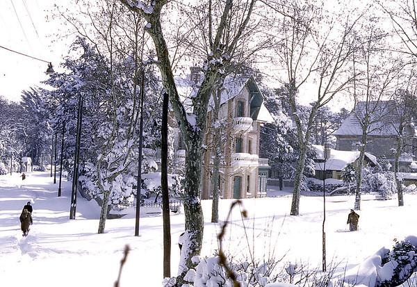 Vue depuis la maison avenue Nelly Deganne