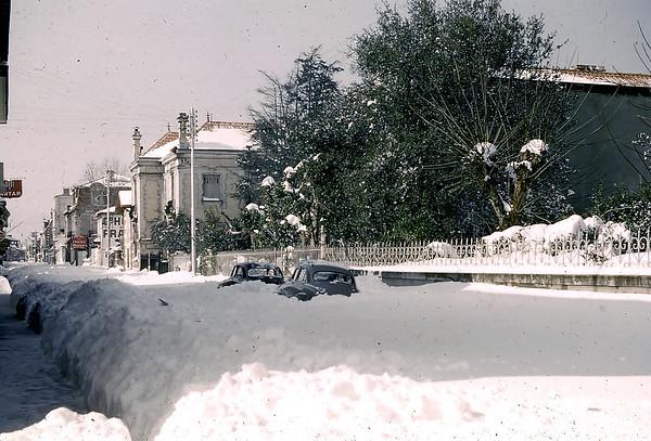 Boulevard de la Plage (niveau Leclerc actuel)