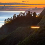 Cliffside Light Trails (Big Sur)