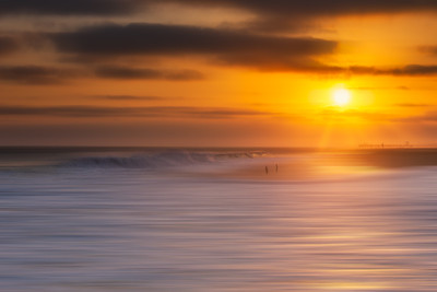 Golden Wave Blur