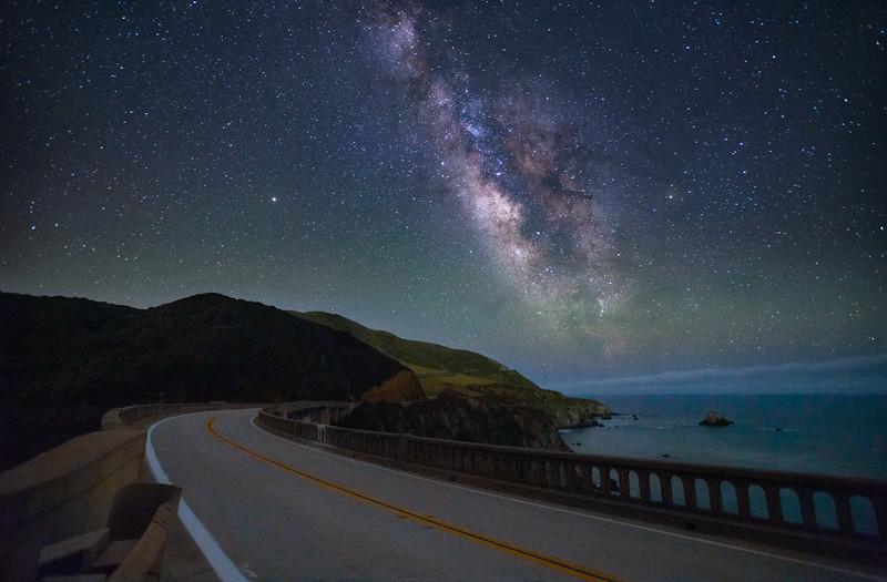 Bridge to the Milky Way