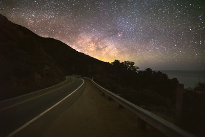 Highway to the Milky Way (Big Sur)