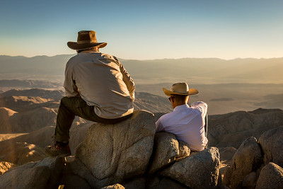 Contemplative Cowboys (Joshua Tree)