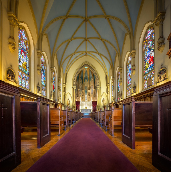 Chapel Hill Nave and Sanctuary 2
