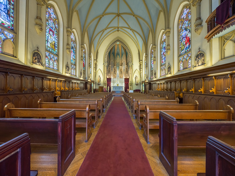 Chapel Hill Nave and Sanctuary 1