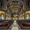 Our Lady of Victory Basilica, View Toward Entry to Nave, Organ