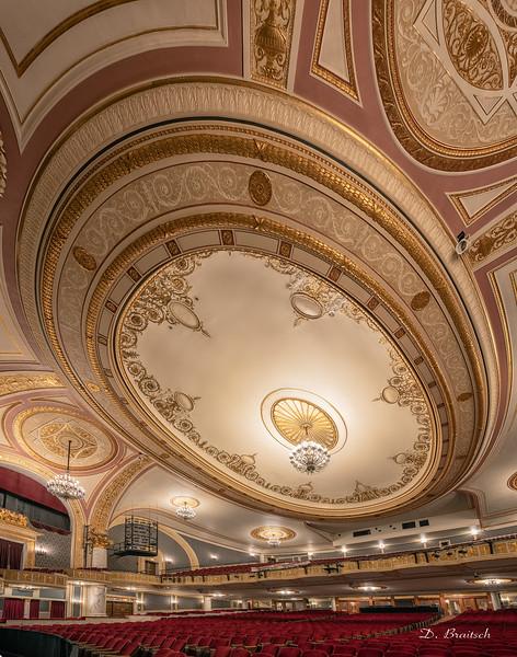 Proctors Auditorium Ceiling Detail 1