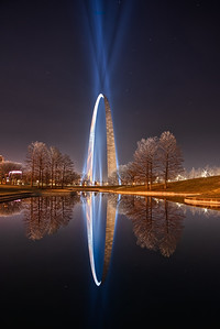 Gateway Arch from the South Reflecting Pond