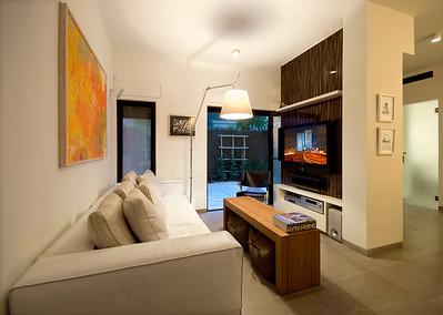 דירה בצפון הישן של תל-אביב. אדריכלים: וי-סטודיו