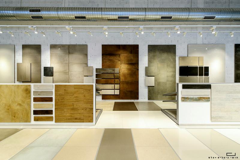 צילום אדריכלות: אולם תצוגה של חברת מודי. אדריכלות: ישראלביץ אדריכלים