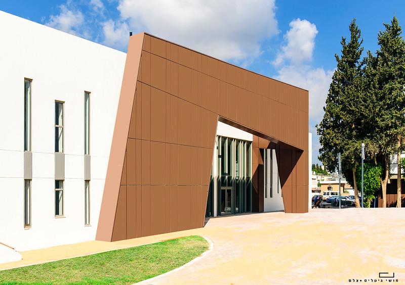 צילום אדריכלות: צילום חיפויי אלומיניום וטרקוטה של קבוצת ענק