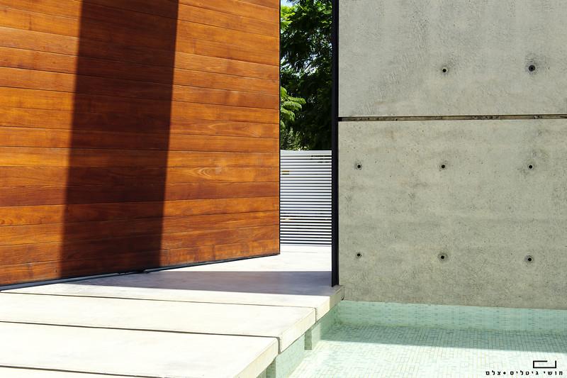 בית באזור המרכז. אדריכלות: וי-סטודיו אדריכלים