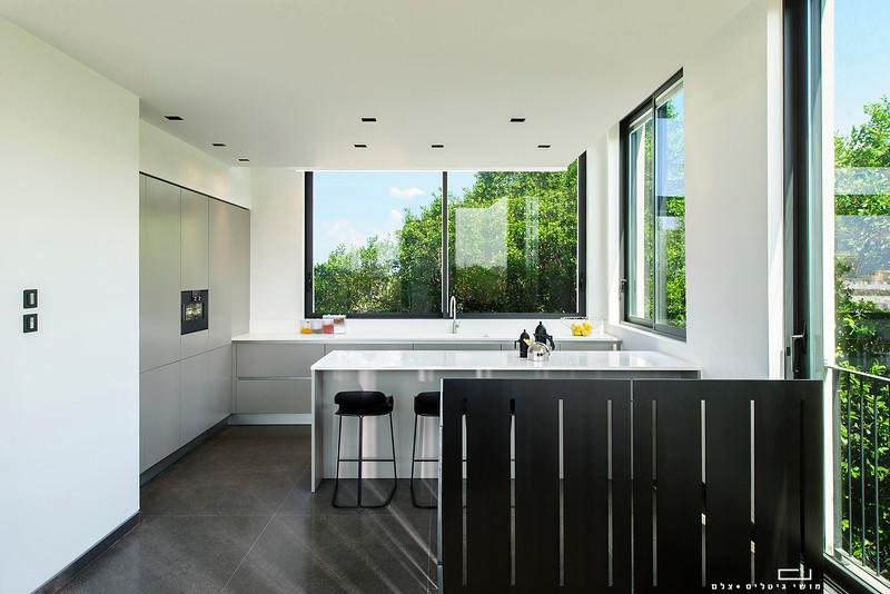 """צילום עיצוב פנים: דירה בת""""א. עיצוב פנים: וי-סטודיו אדריכלים"""