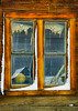 Bodie School Window