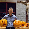 Photos of the Monastery Pumpkin Carving Party held on October 27, 2017 in the monastery refectory.
