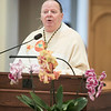 """On Wednesday, March 21, the monastic community celebrated the Feast of St. Benedict during Mass in the Archabbey Church. Students, co-workers, and Oblates joined the monks for Mass.<br /> <br /> Fr. Denis Quinkert, OSB, presented the Oblate March retreat titled """"Waiting in the Garden with Jesus"""" at Saint Meinrad Archabbey on March 20-22."""