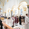 Bishop Joseph Siegel, bishop of Evansville, presided at Mass on Sunday, January 21, 2018, the Solemnity of St. Meinrad. Oblates were on the Hill for a day of recollection.