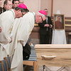A funeral Mass was held for deceased Archbishop Emeritus Daniel Buechlein, OSB, at the Cathedral of Saints Peter and Paul in Indianapolis on January 31, 2018.