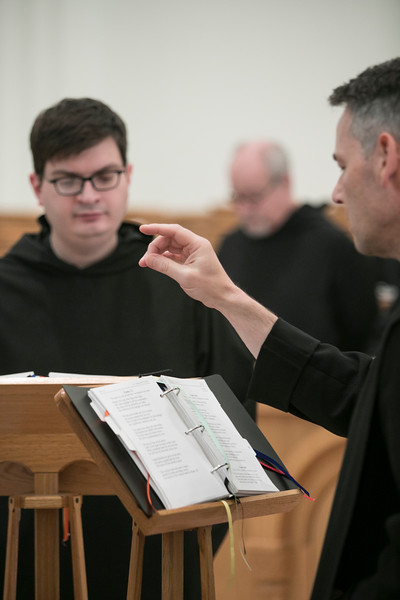 Novice Noel Zamora professed his temporary vows as a Benedictine monk in a ceremony on August 6, 2018, at Saint Meinrad Archabbey, St. Meinrad, IN.<br />  <br /> He has completed his novitiate, a year of prayer and study of the Benedictine way of life. As is the custom during the profession of vows, he chose a religious name. Novice Noel is now Fr. Mateo.