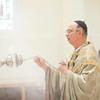 Br. Benedict Barthel (75), Fr. Rupert Ostdick (70), Fr. Vincent Tobin (60), Fr. Augustine Davis (60), Fr. Raymond Studzinski (50), Fr. Godfrey Mullen (25), and Fr. Cletus celebrated their profession jubilee on Sunday July 27, 2014.
