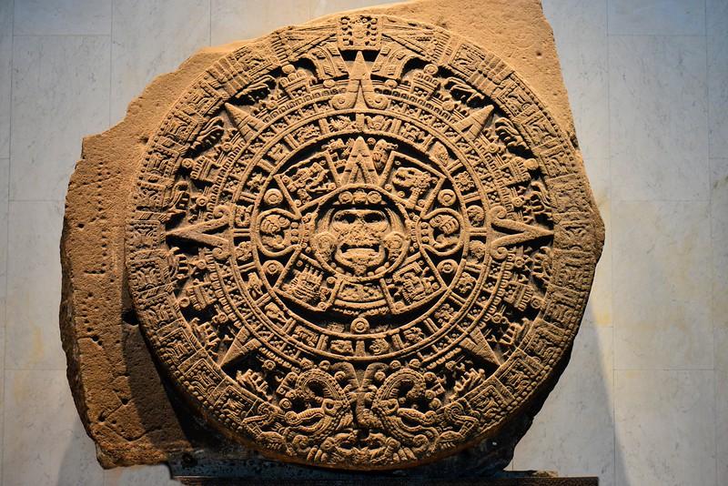 Ancient Aztek calendar