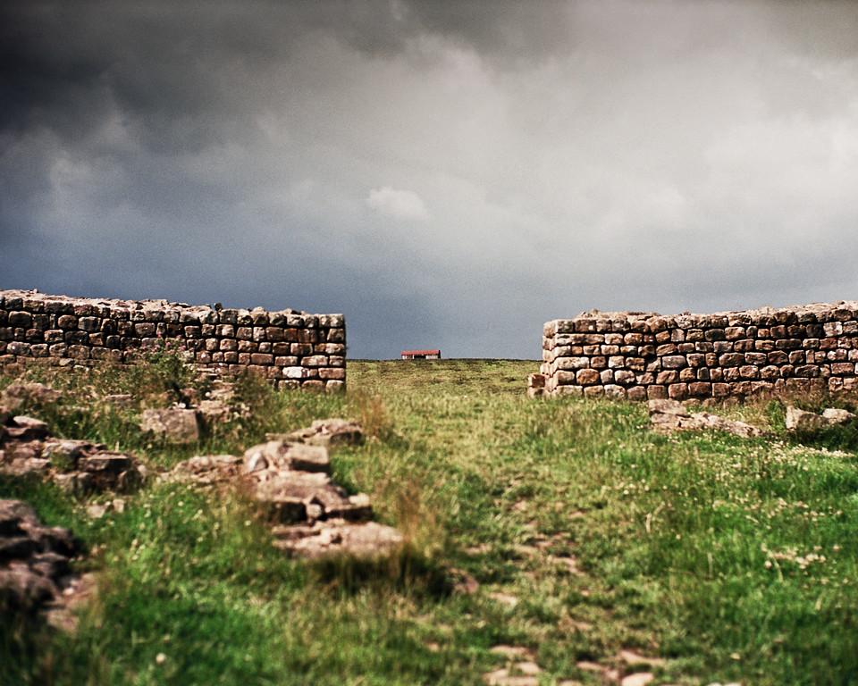 Hadrian's Wall - a gateway north