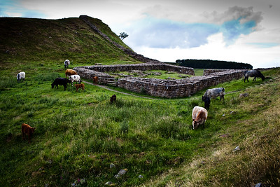 Milecastle, Hadrian's Wall.