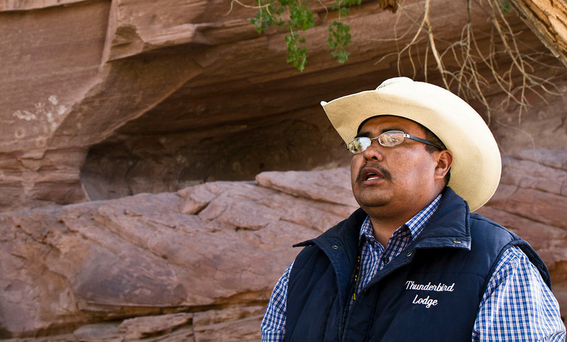 Orlando, our excellent Navajo guide and driver.