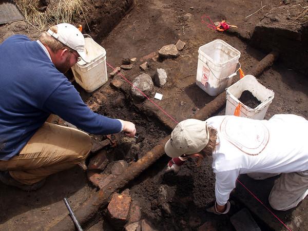 El Polin Spring Excavation