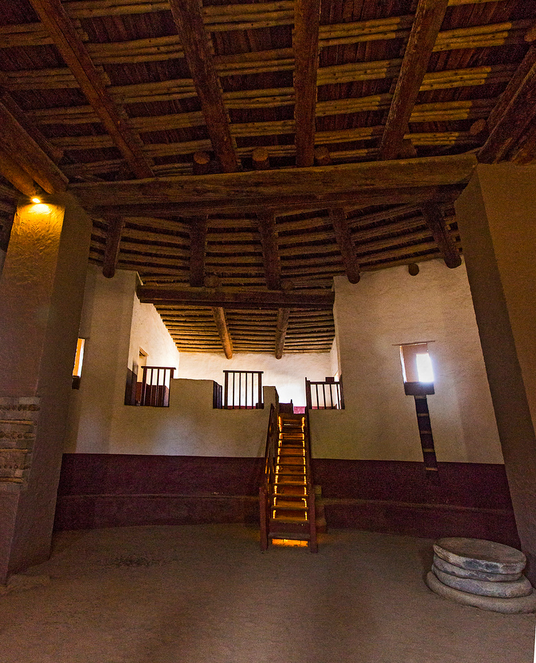 The original inhabitants would be more than surprised at this much restored interior of their Great Kiva.