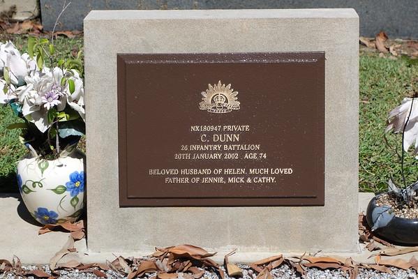 Mudgeeraba Cemetery Service Graves
