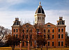 "This courthouse and the town of Marfa were featured in the 1950's film of Edna Ferber's Pulitzer Prize winning novel  ""Giant,"" starring Elizabeth Taylor, Rock Hudson, and James Dean---Marfa, Texas."