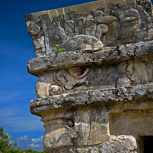 Archaeological site of Tulum, Mexico.