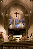 The Sanctuary of Blessed Sacrament Cathedral in Detroit