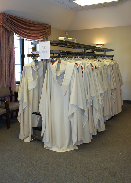 Vestments before Mass