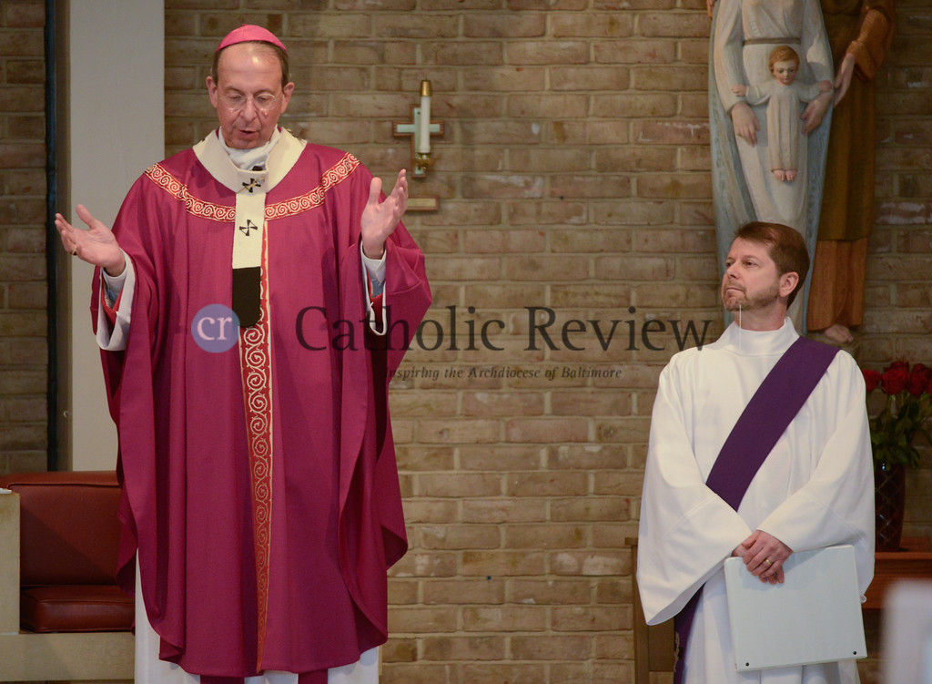 Archdiocesan Scout Mass, St. Gabriel - March 6, 2016