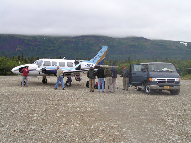 <br>Arrival at Kulik Lodge From Anchorage