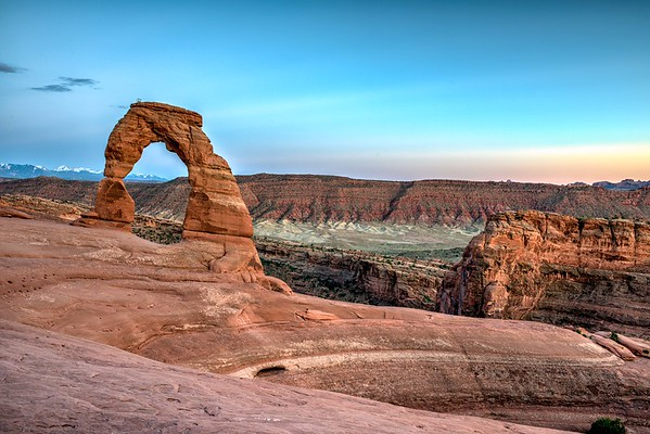 The Beautiful Delicate Arch