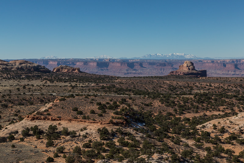 Canyonlands from Aztec butte