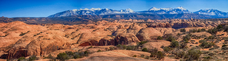 La Sal Mts Moab, Utah