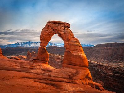 Titan of Time: Arches National Park Fuji GFX100 Elliot McGucken Medium Format Fine Art Landscape Nature Photography