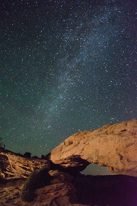 Mesa Arch, Milky Way