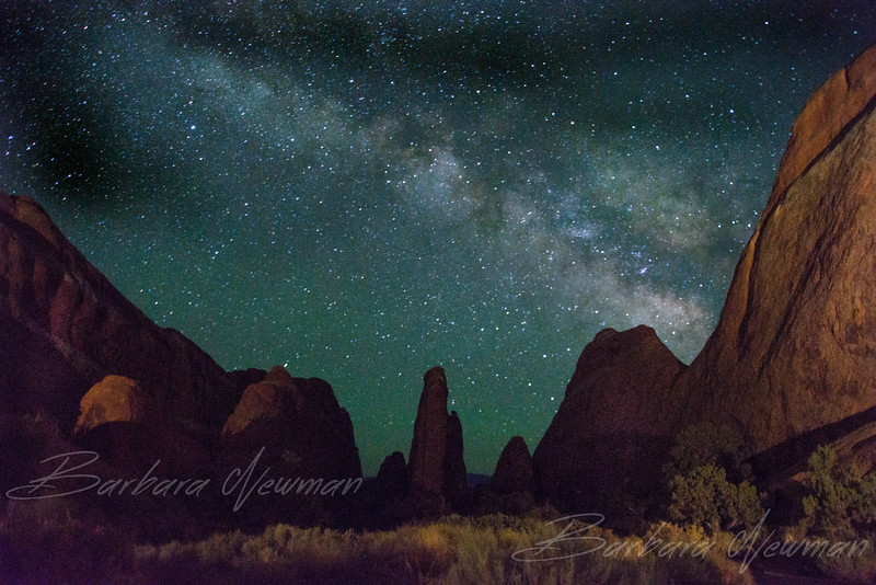 Milky Way at Devils Garden, Utah
