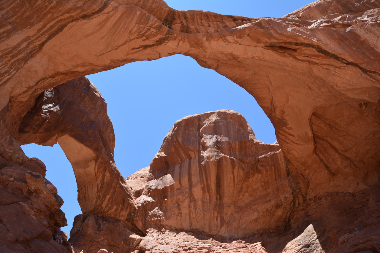 Double Arch in the day.