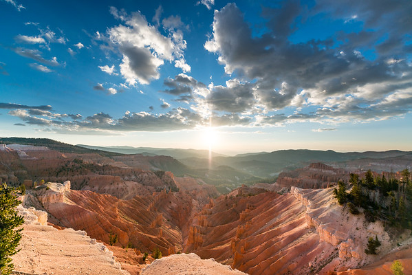 Cedar Breaks National Monument at Sunset
