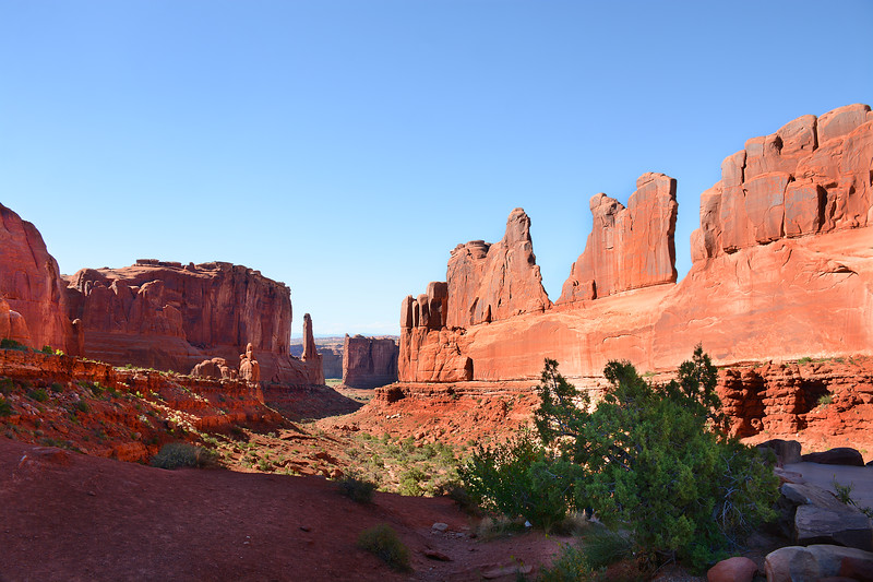 Fifth Avenue,  Arches National Park.