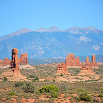 Arches National Park landscape.